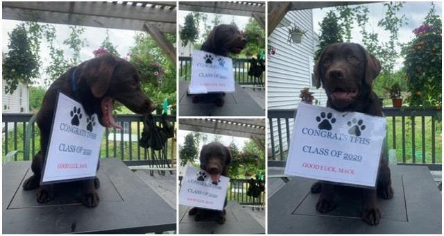 Montague Mack sends graduation message for Class of 2020!